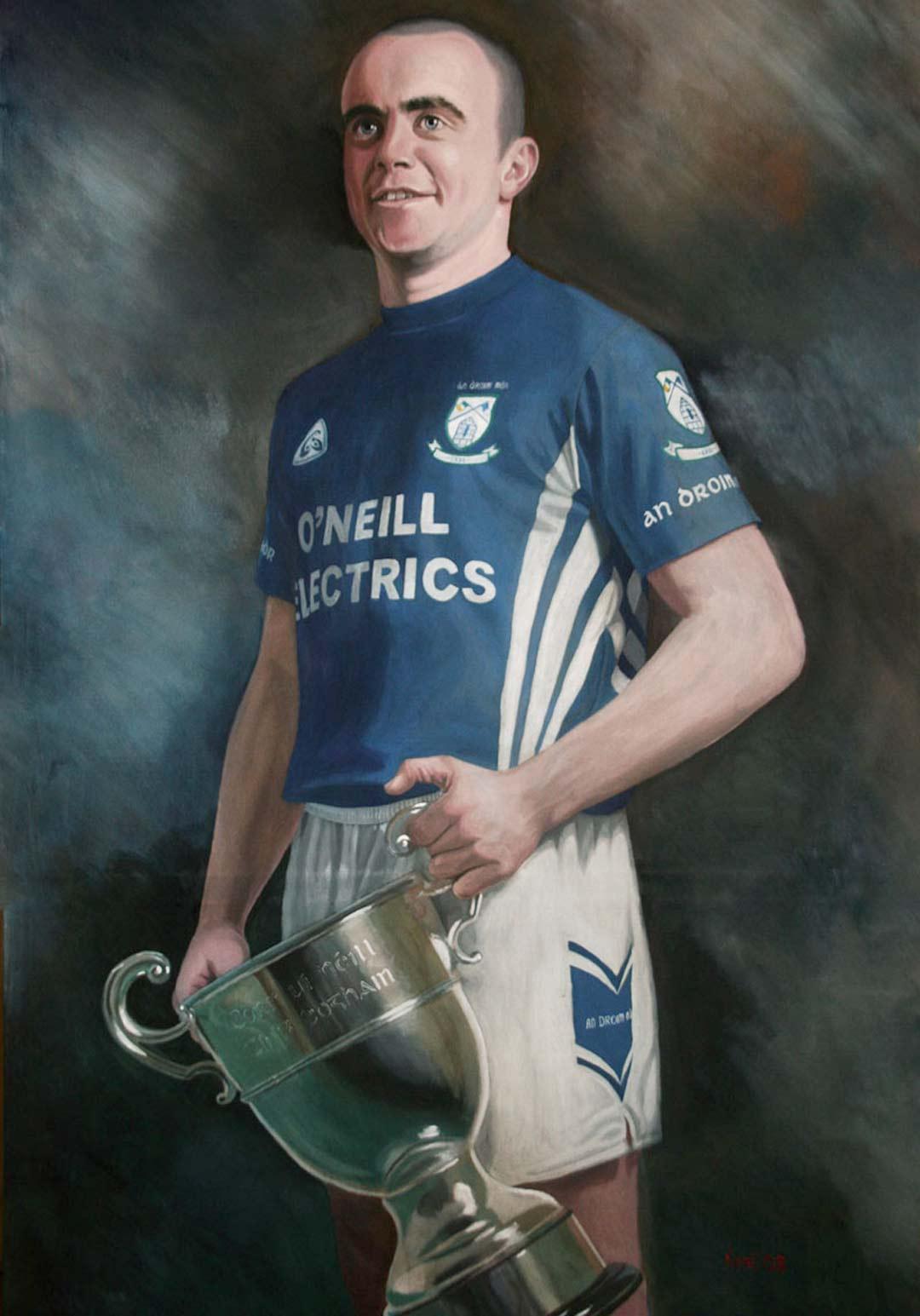Fabian O'Neill - Dromore GAC Tyrone Senior County Champions